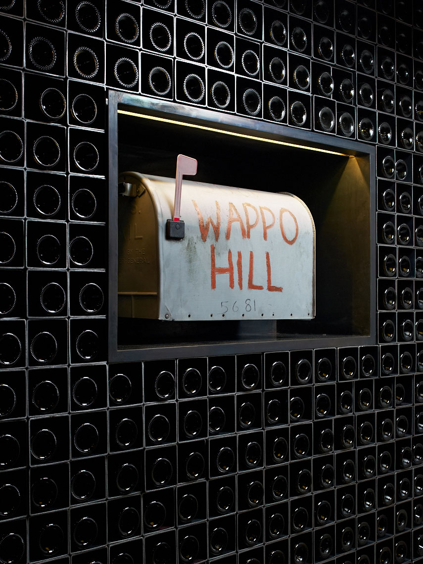 Redd Wood,  Wappo Hill Mailbox, Yountville