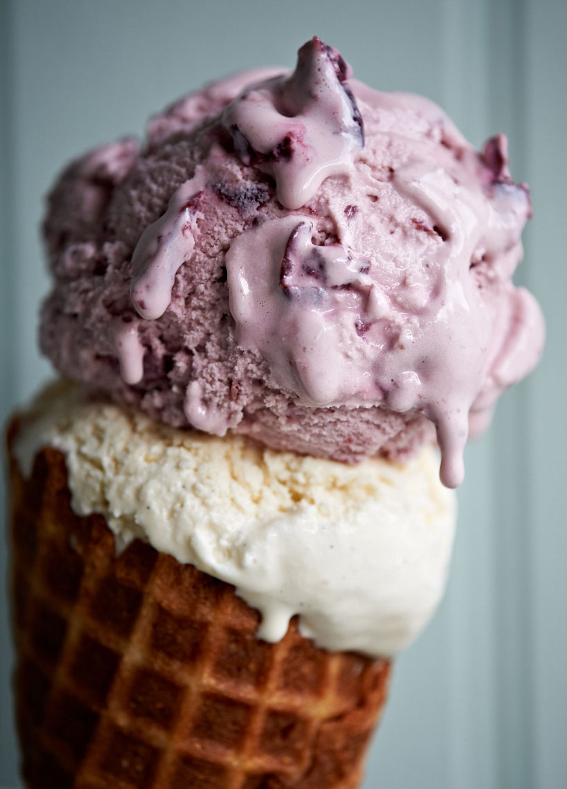 Ice-Cream Bar - Blackberry Cone