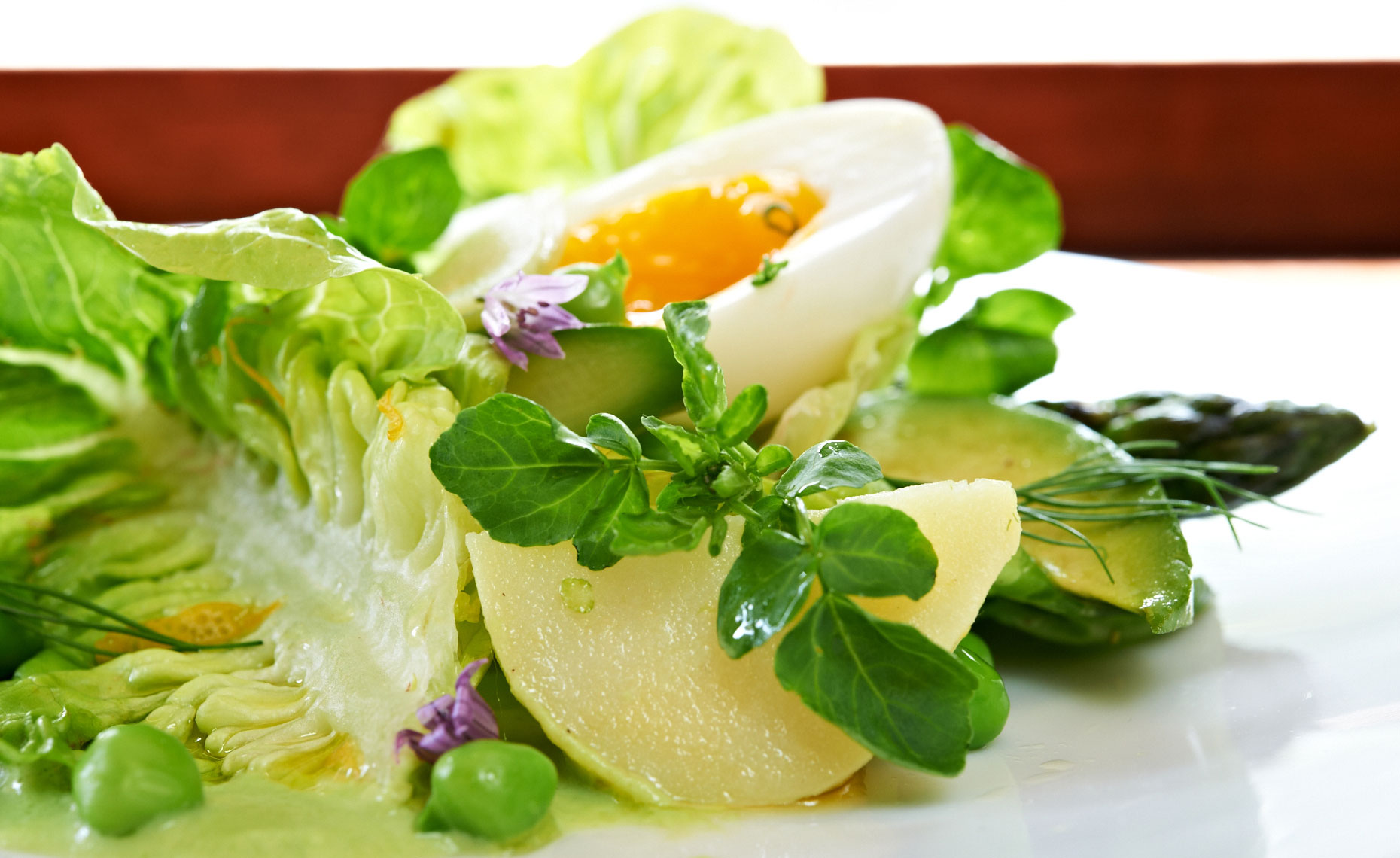 Frances, Egg Summer Salad