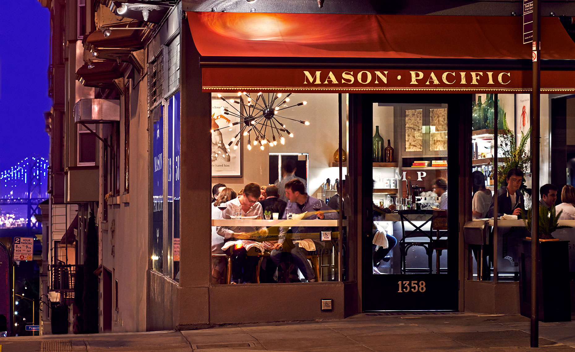Mason Pacific Exterior Night