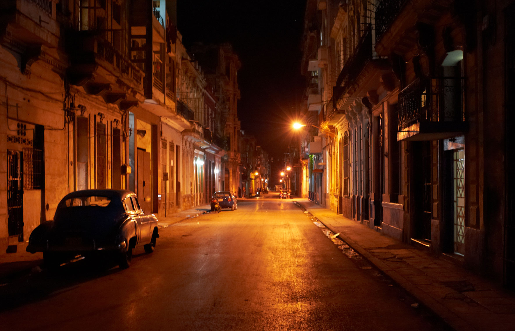 Havana at Night, Cuba