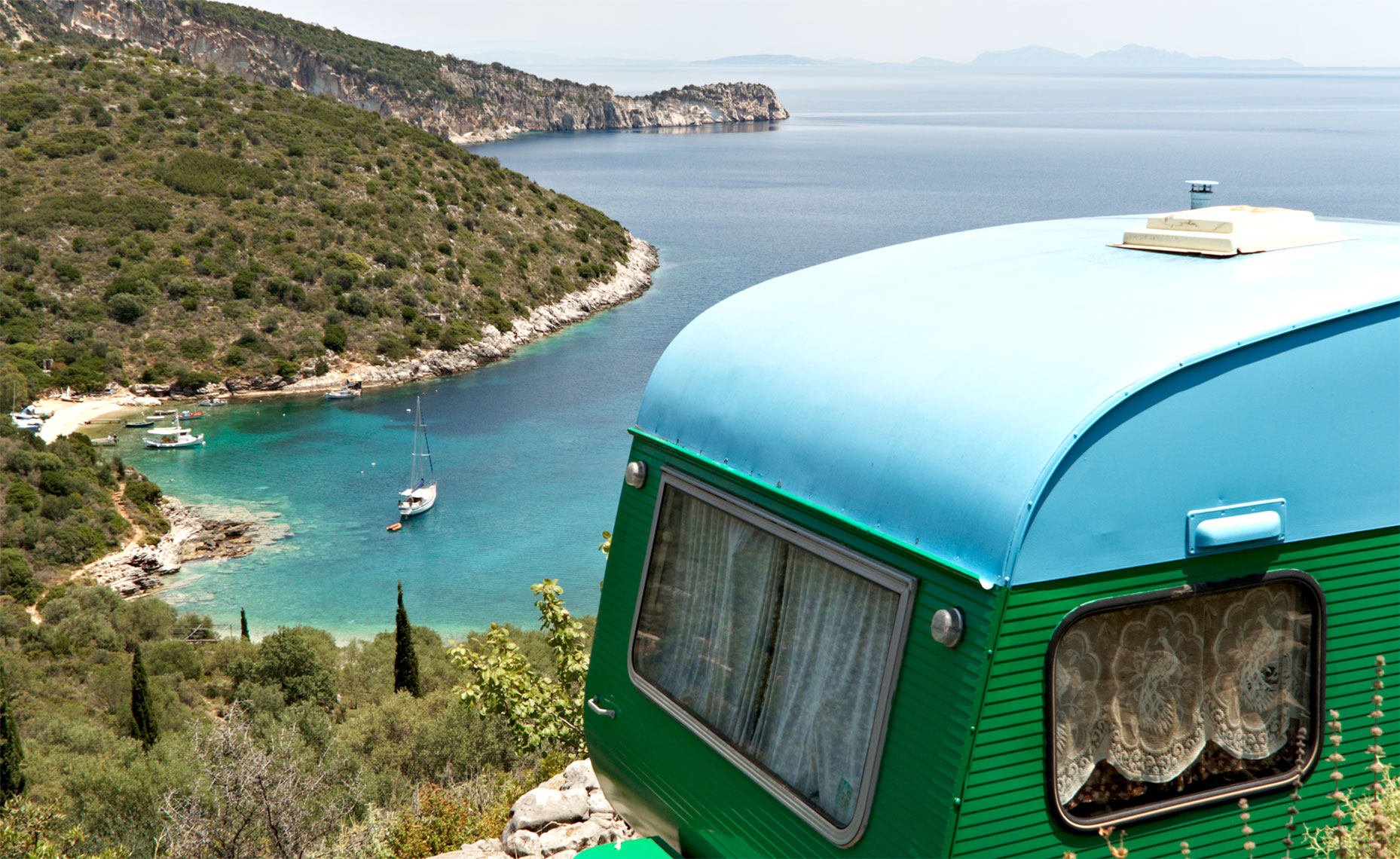 Trailer, Greece