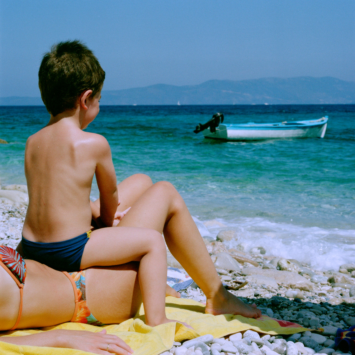 Summer Vacation, family, Greece