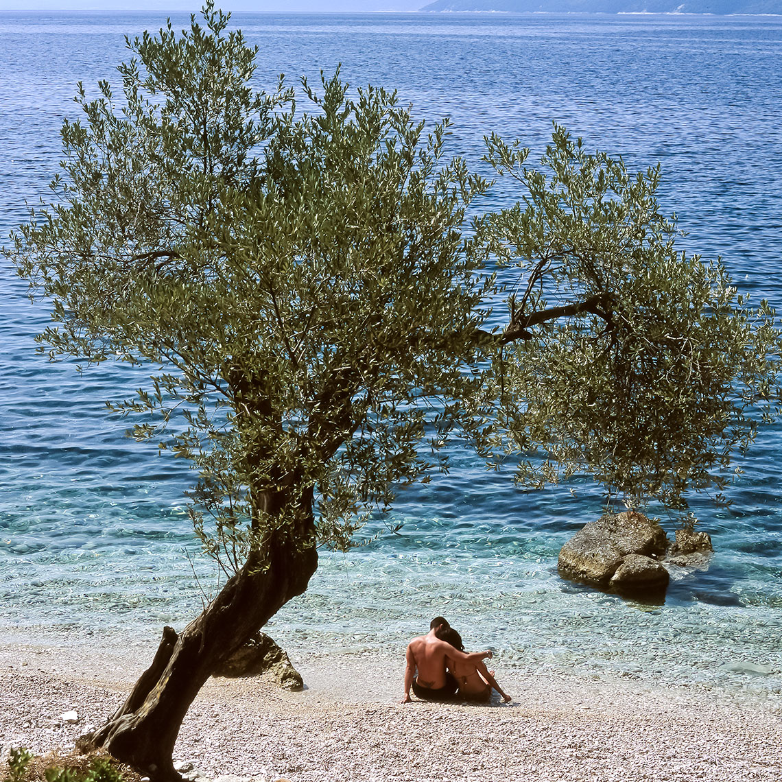 Olive Tree Beach, Greece