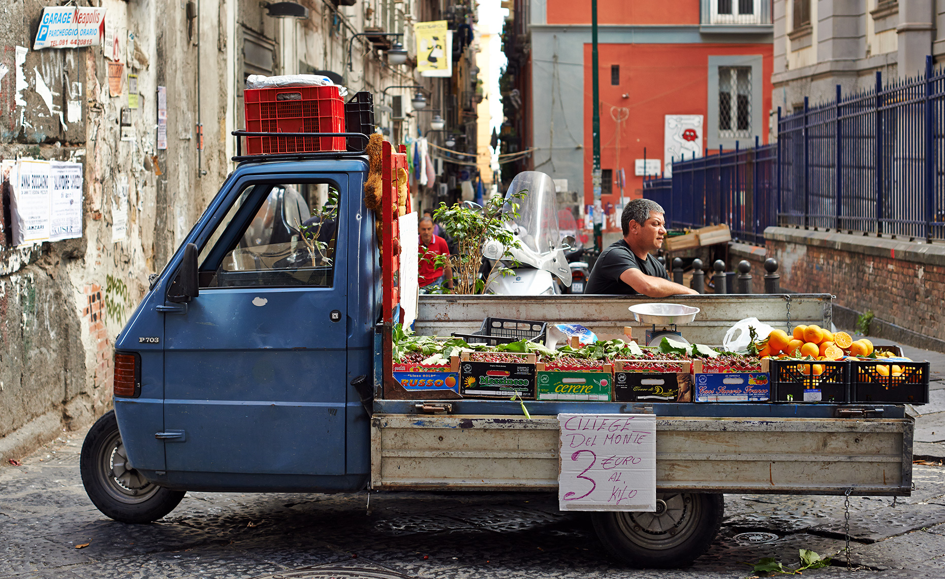 vegetable seller Naples